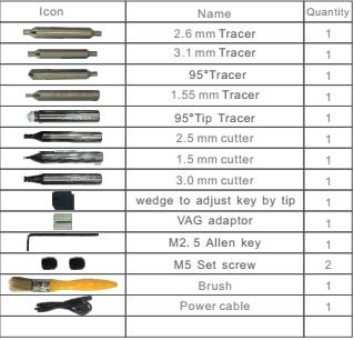 JINGJI L2 Vertical Key Cutting Machine-3
